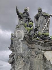 聖ウィンケンティウス・フェレリウスとプロコプ像