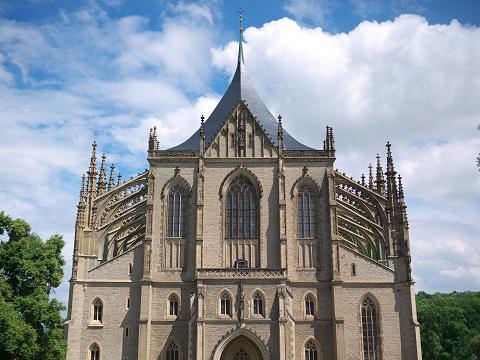 聖バルボラ教会正面