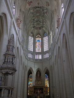 聖バルボラ教会天井