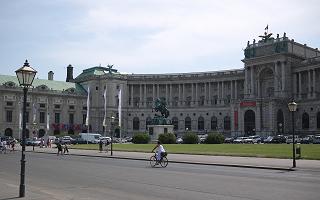 ウィーンの新王宮