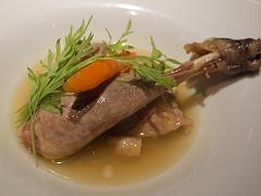 フランス産ホロホロ鶏と季節野菜のポトフ ~カフィアライムの香り~