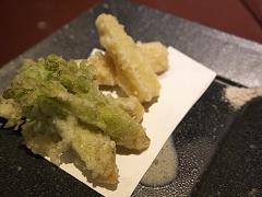 タラの芽とタケノコの天ぷら