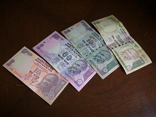 インド・ルピー紙幣