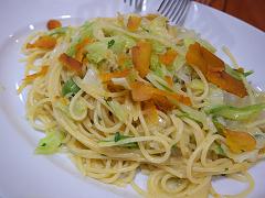 カラスミのスパゲティーニ