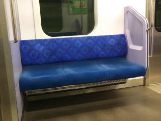 鉄道の座席