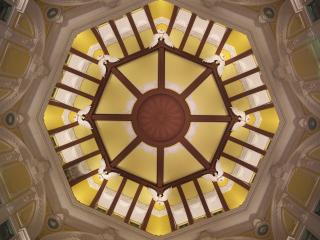 東京駅舎の南北ドーム