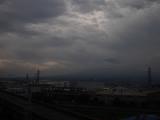 東海道新幹線から見た富士山