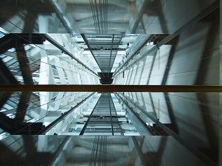 東京スカイツリー天望回廊へのエレベータ