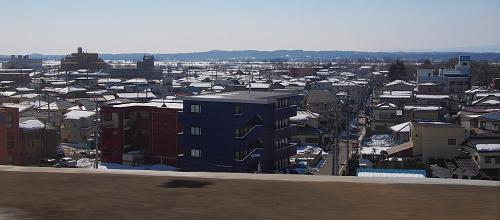 上越新幹線の車窓から