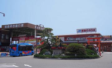 宮島口桟橋付近