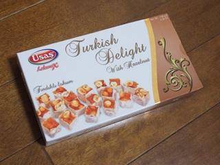 Usas Turkish Delight with Hazelnut