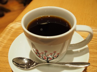 CAFE LEXCELのコーヒー