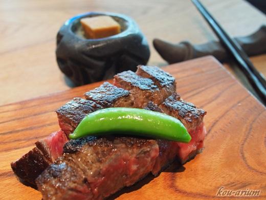 熟成肉ステーキランチ