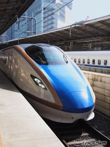 新幹線かがやきE7系・W7系