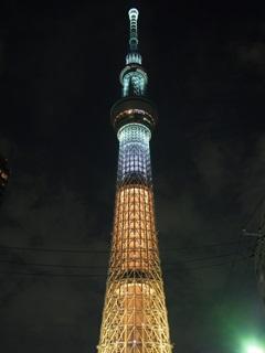 東京スカイツリー「煌」