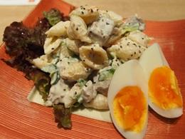 自家製ツナのマカロニサラダ