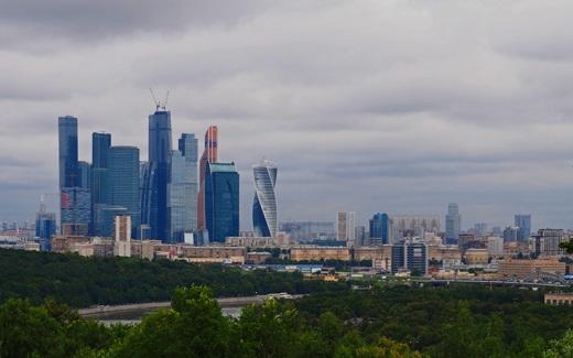 モスクワの雀が丘からの眺め