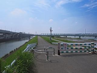 荒川と綾瀬川