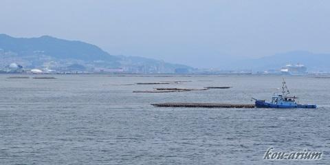 宮島航路からの眺め