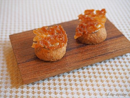 ジャガイモのクッキー