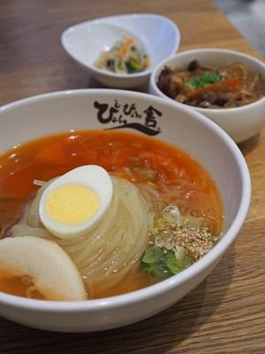 盛岡冷麺とミニプルコギ丼