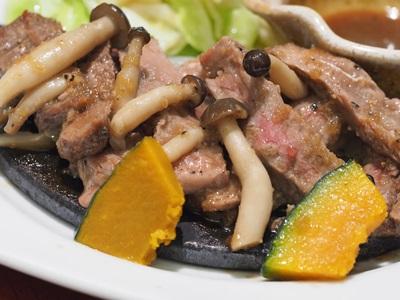 炭火焼きサーロインステーキ定食 ~特製おろしソース~