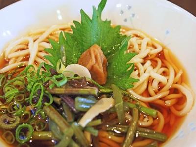 梅山菜うどん(冷)