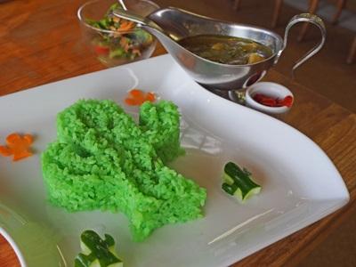 サボテングリーンカレー