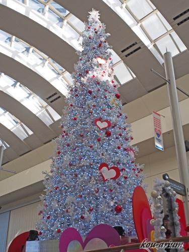 クイーンズスクエア横浜のクリスマスツリー2017