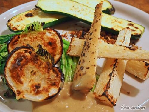 石窯焼き野菜