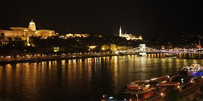 Budapest Marriott Hotelからの眺め