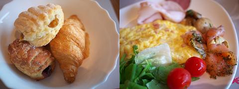 Budapest Marriott Hotelの朝食