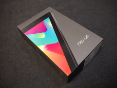 Nexus 7外箱