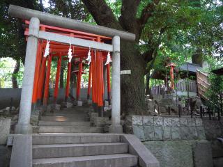 赤坂王子稲荷神社の鳥居