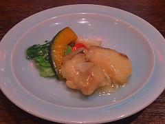 厳選野菜と北海道産アイナメの塩味炒め