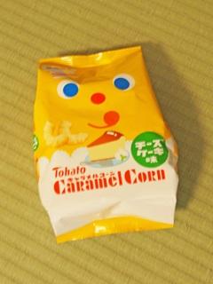 キャラメルコーン チーズケーキ味