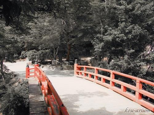紅葉谷の橋