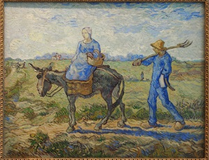 Morning: Going out to Work (after Millet)