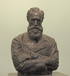 パーヴェル・ミハイロヴィッチ・トレチャコフの銅像