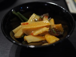 タケノコの甘辛煮