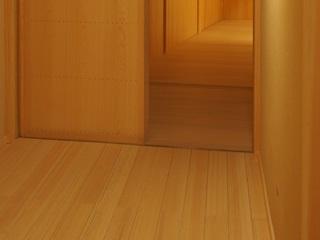 床張りの部屋
