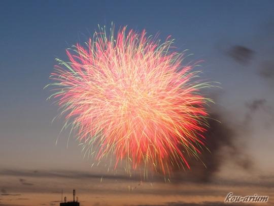 隅田川花火大会2016の花火