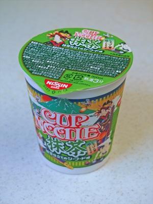 カップヌードル抹茶 抹茶仕立てのシーフード味