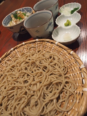 向島七福すずめの御宿の蕎麦