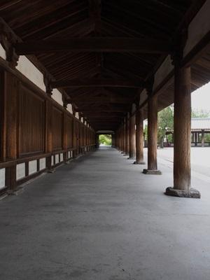 法隆寺 廻廊