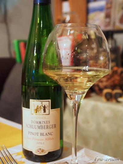 Pinot Blanc Les Princes Abbés 2012