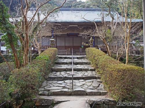大寧護国禅寺の本堂