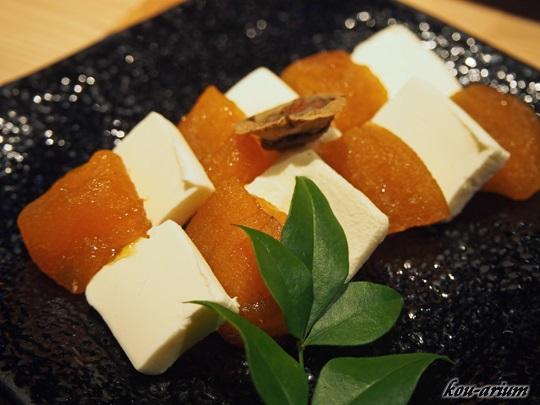 和歌山あんぽ柿とクリームチーズ