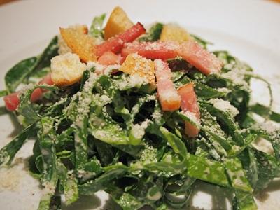 静岡ケールのサラダ