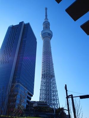 青空と東京スカイツリー